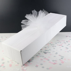 Gift Box & Tulle Ribbon
