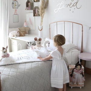 Liberty Print Playmat & Doll Gift Set - Pink