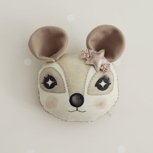 Dormouse Animal Wall Head