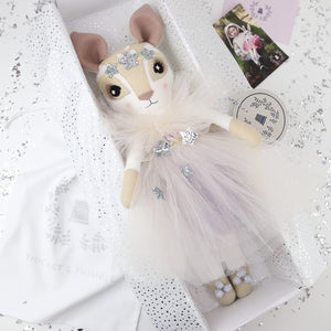 Embroidered Tulle & Petal Tutu Delphine Dormouse