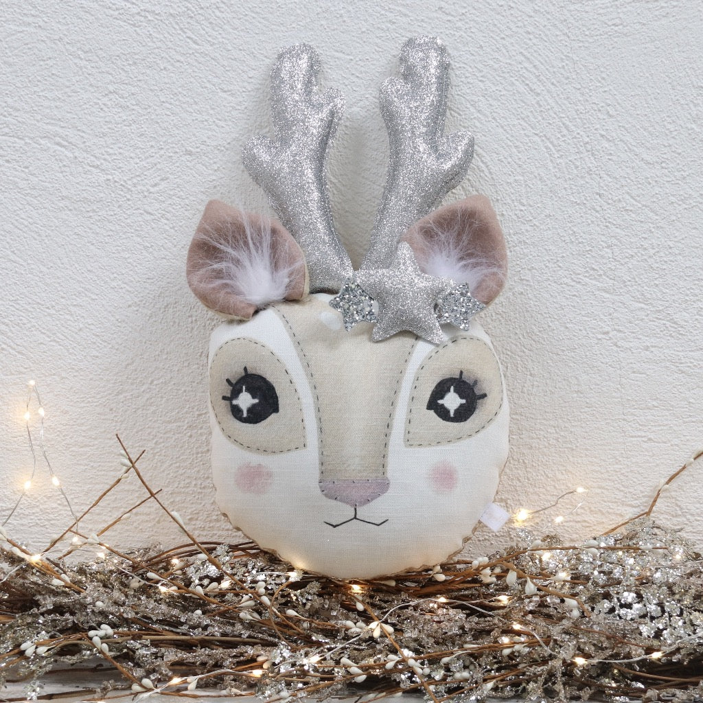 Christmas Reindeer Animal Wall Head