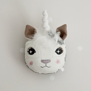 Unicorn Animal Wall Head