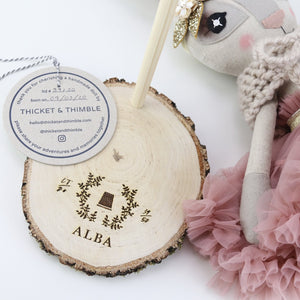 Heirloom Doll Stand - Personalised