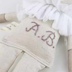 Hand Embroidered Monogram