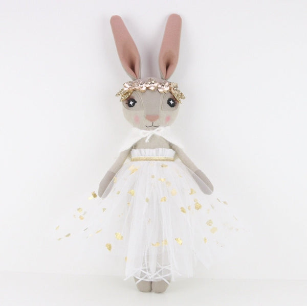 Hand-Applied 24K Gold Leaf Hebe Hare