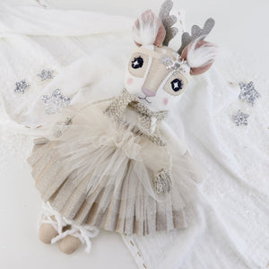 Keepsake Pleated Sparkle Rosalie Reindeer