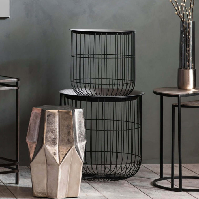 Addison Cage Table Nest (2 Pieces)