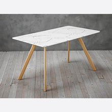 Load image into Gallery viewer, Athens Dining Table Marble White