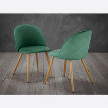 Load image into Gallery viewer, CHAIRS - Capri Velvet Chairs Green (x2)