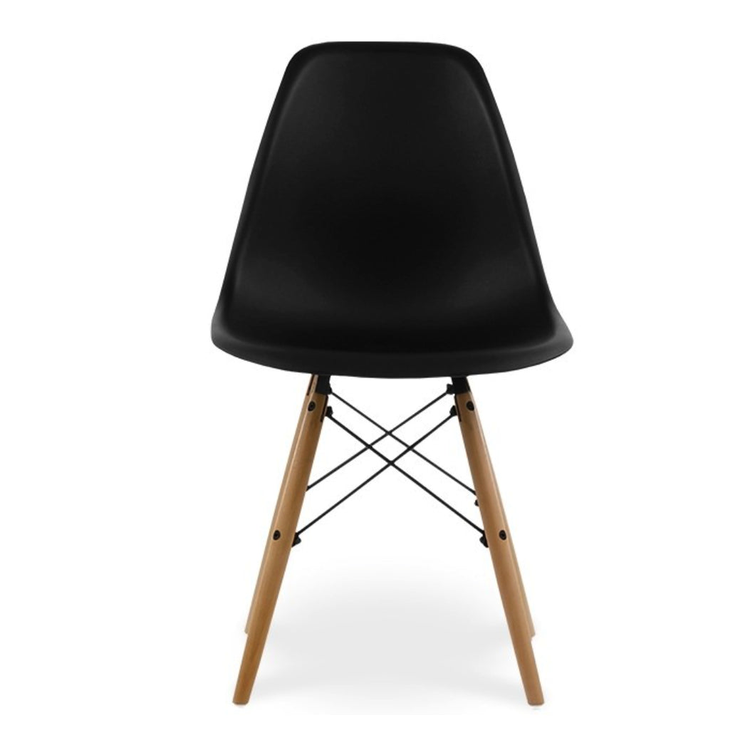 CHAIRS - Eames Style Chairs Wood Black