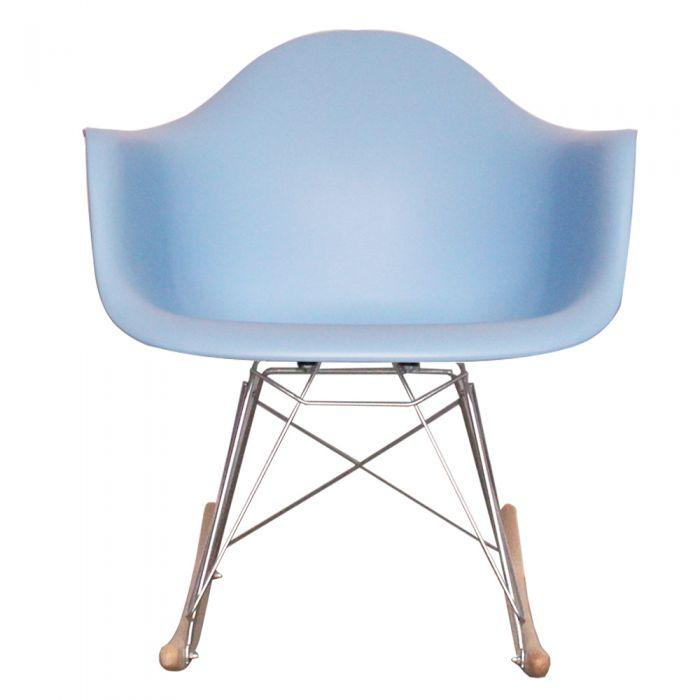 CHAIRS - Eames Style Rocking Chairs Blue
