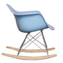 Load image into Gallery viewer, CHAIRS - Eames Style Rocking Chairs Blue