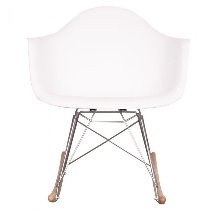 CHAIRS - Eames Style Rocking Chairs White