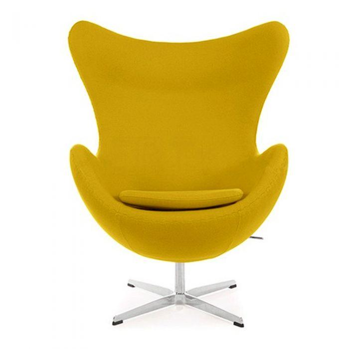 CHAIRS - Egg Chair Yellow