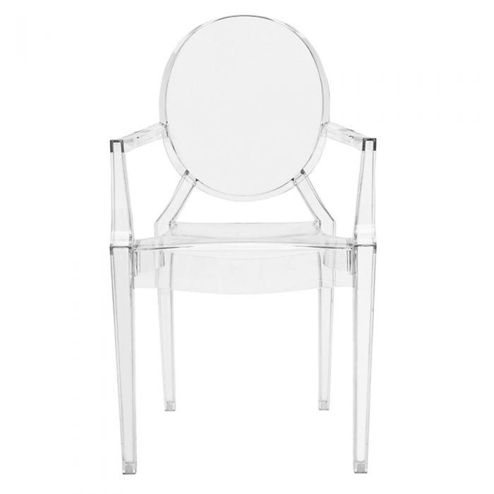 CHAIRS - Ghost Style Arm Chairs Clear