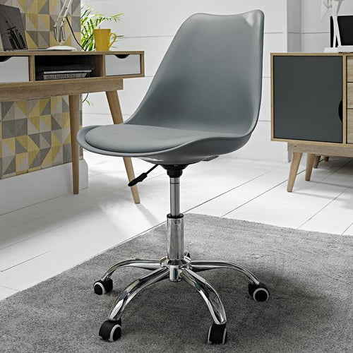 CHAIRS - Office Swivel Chair Grey