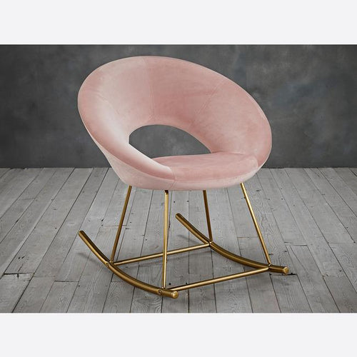 CHAIRS - Rønne Rocking Chair Pink