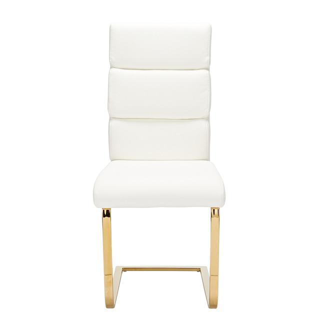 CHAIRS - Santorini Dining Chairs White (x2)