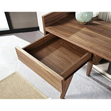 Load image into Gallery viewer, DESK - Roholte Walnut Desk