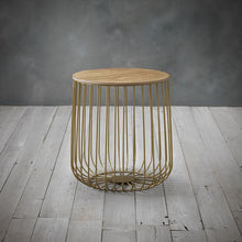 Load image into Gallery viewer, Esbjerg Cage Table Oak