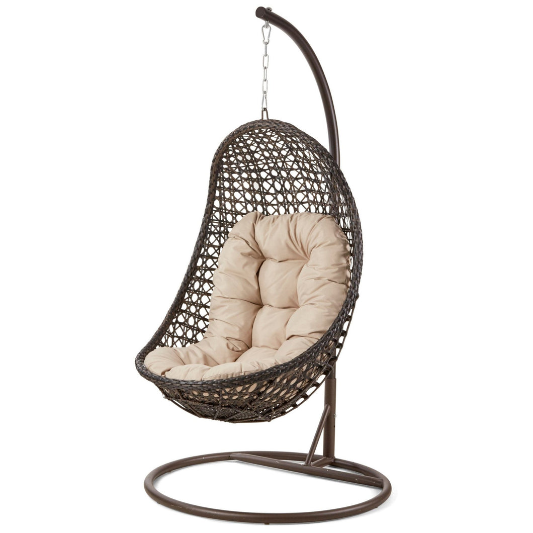 OUTDOOR - Marazion Hanging Chair Brown