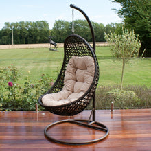 Load image into Gallery viewer, OUTDOOR - Marazion Hanging Chair Brown
