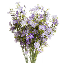 Load image into Gallery viewer, PLANTS - Purple Wild Flower Spray (x3 Stems)