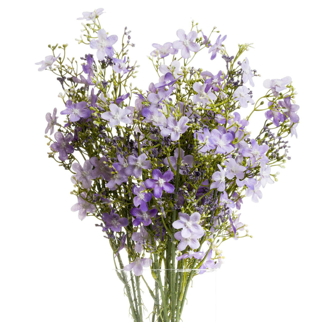 PLANTS - Purple Wild Flower Spray (x3 Stems)