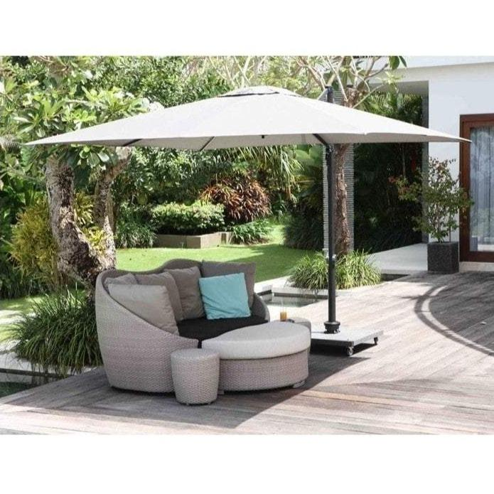 Porthminster Large Outdoor Parasol 3m X 3m