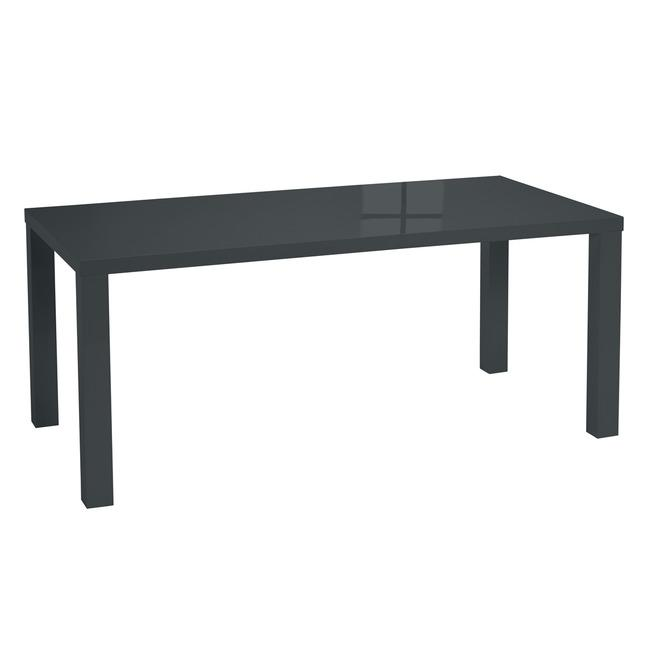 Prima Large Dining Table Charcoal