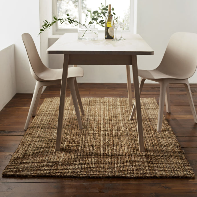 STOOLS - Thick Chunky Jute Rug