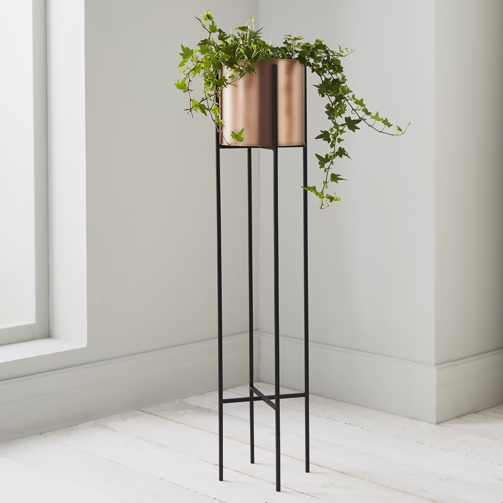 VASES/ PLANTERS - Copper Stilts Planter