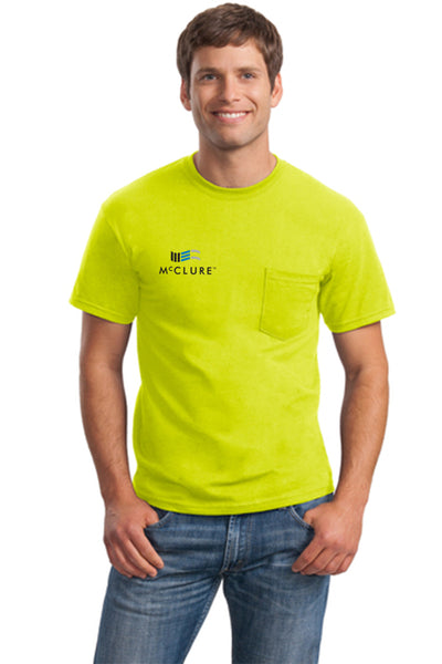Safety: Short Sleeve T-Shirt w/pocket (#2300)