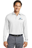 Nike Mens Long Sleeve Dri Fit Polo #466364