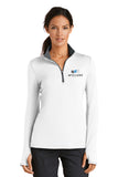 Nike Dri-Fit Stretch Womens 1/2 Zip Pull-Over #779796