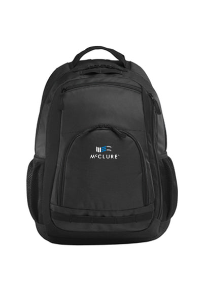 Port Authority® Xtreme Backpack (#BG207) - Dark Grey/Black/Black