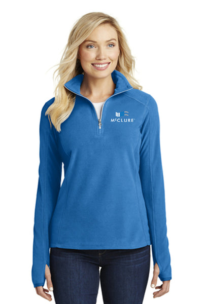 Microfleece Ladies 1/2 Zip #L224