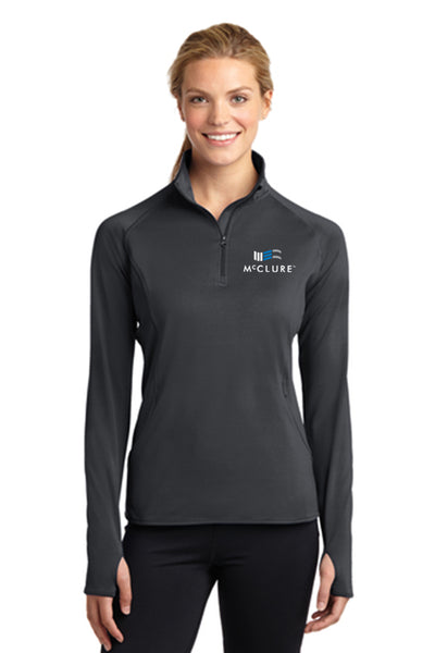 Sport-Tek Womens 1/2 Zip Pull-Over #LST850