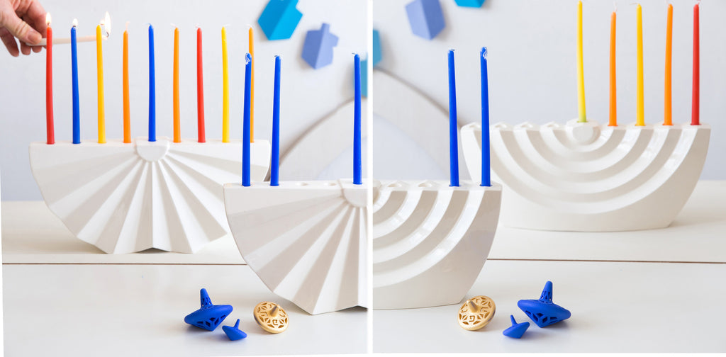 8 reasons why modern Judaica designers love Menorahs