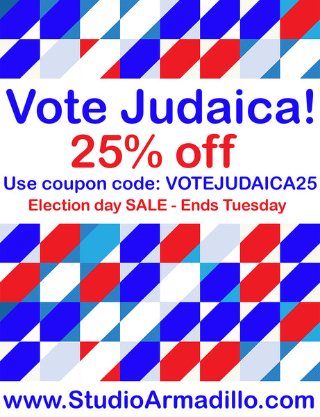election 2016 sale - 25% off all shop