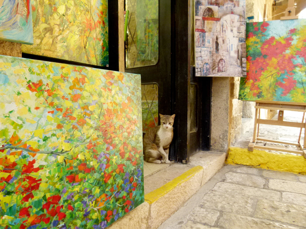 Cat Lovers in Old Jaffa