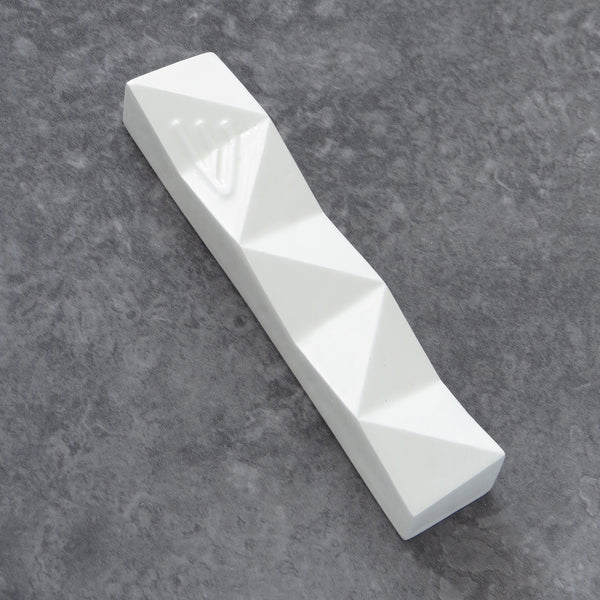 Mezuzah case - Off White with bolded Shin - Medium size - for 4'' scroll