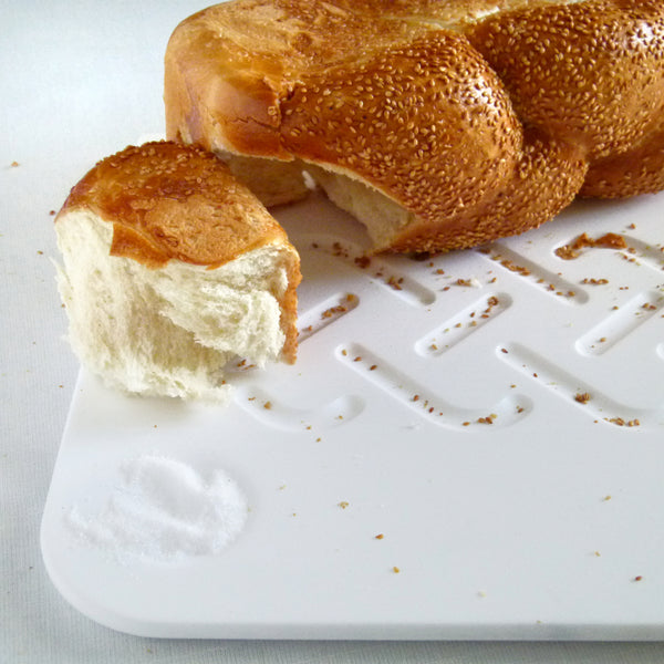 Challah board for modern Shabbat table