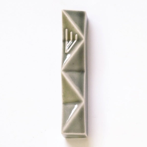 Mezuzah case - Grey - for 2.7'' scroll