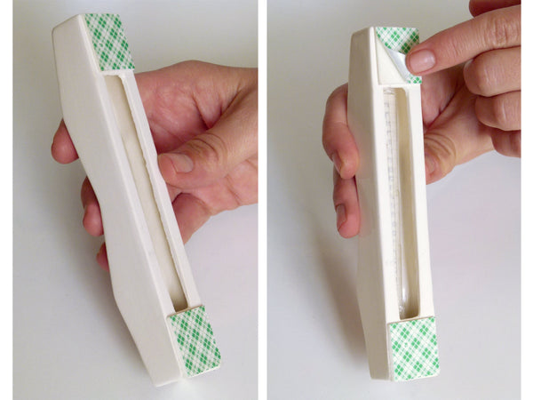 How to mount the mezuzah case