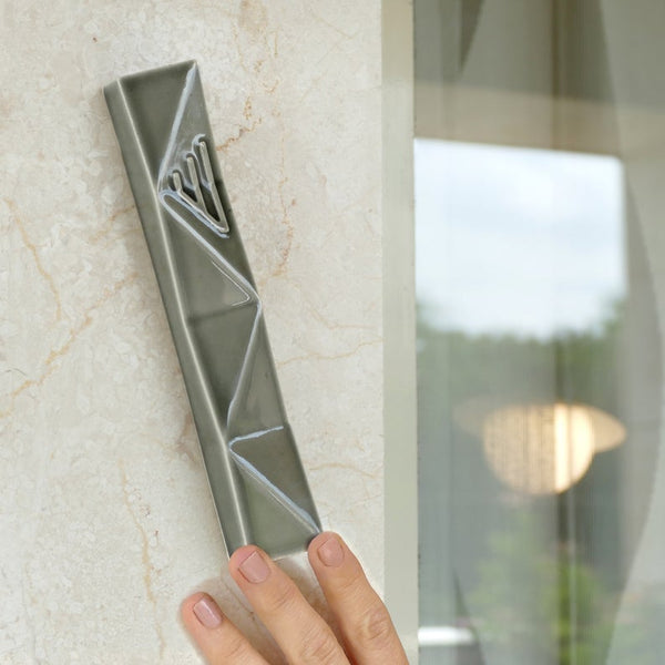 mezuzah design - modern judaica - large Mezuzah for front door