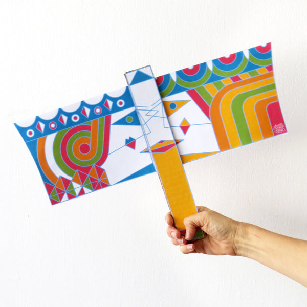 Vashti and Esther Flag - creative purim Project for all familiy