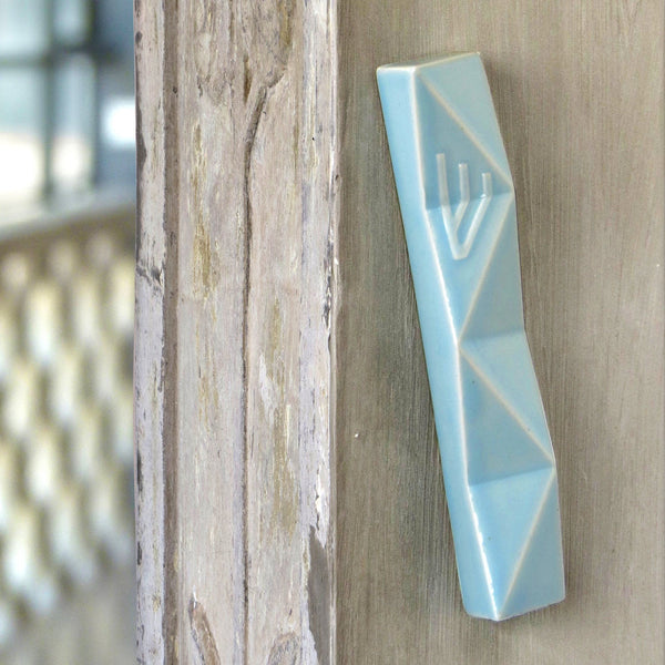 Large mezuzah door