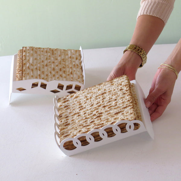 Minimalist Matzah Tray - Made in Israel