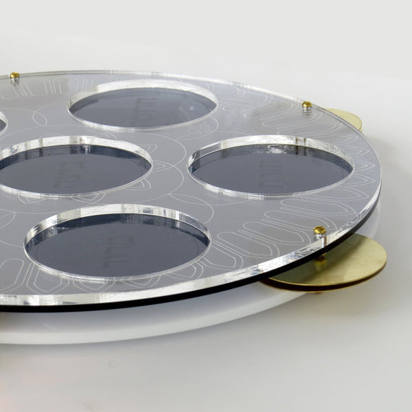 Onsale - Modern Seder Plate - Inspired by Miriam's Tambourine | New release - Short term pre sale